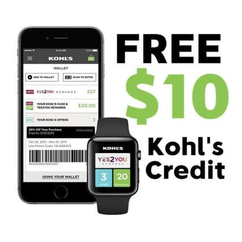 Free 10 Kohl S Cash For Downloading App Swaggrabber Download App App Kohls