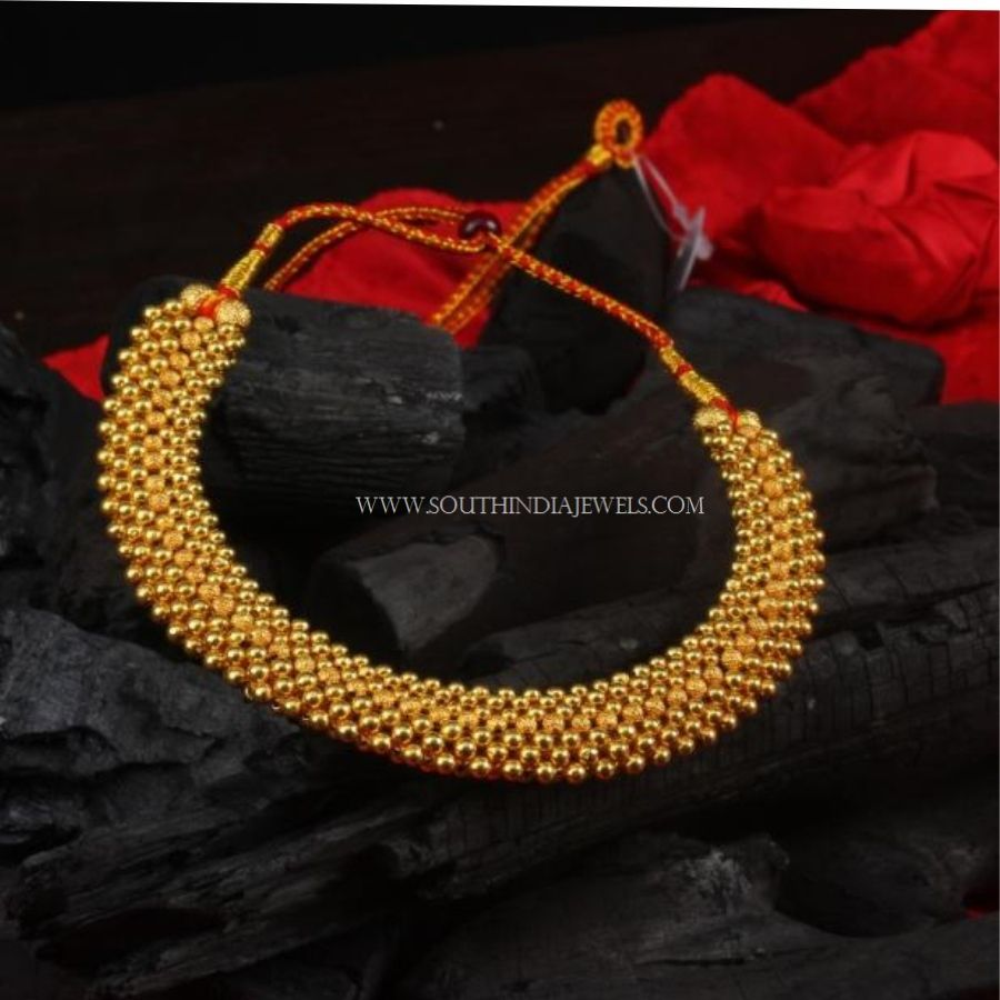 Gold Necklace Designs Below 10 Grams With Price South India Jewels Gold Necklace Designs Gold Necklace Wedding Gold Jewellery Design Necklaces
