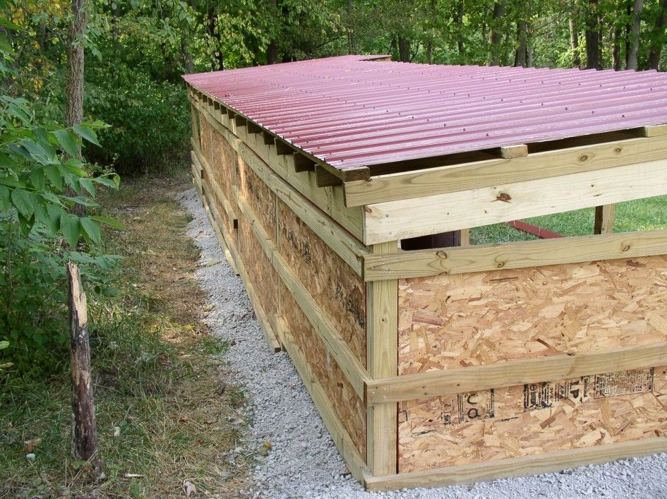 Decoration Ideas Simple Wood Storage Shed Plans With Cute