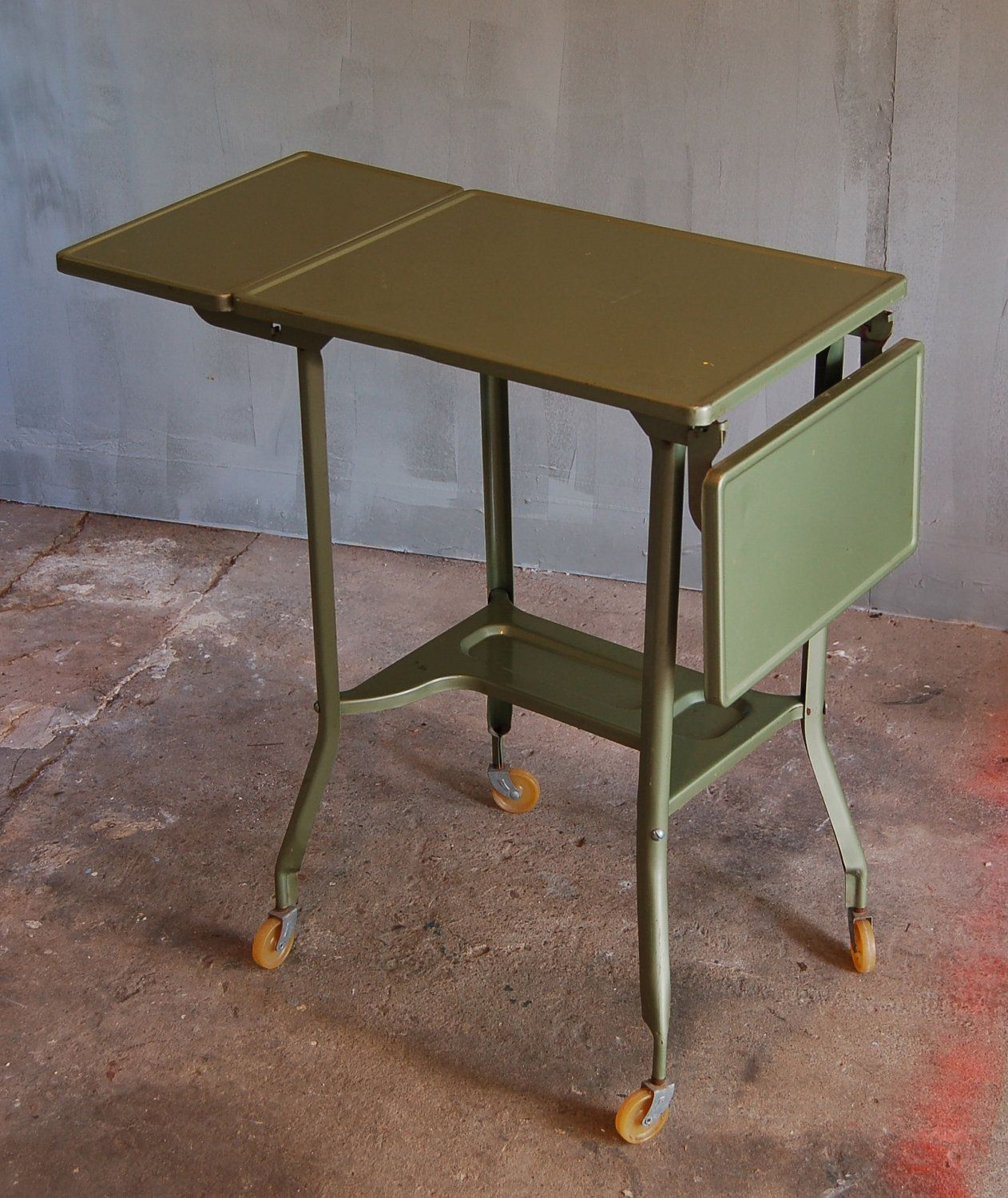 vintage typewriter table 125 00 via etsy looks like one i bought