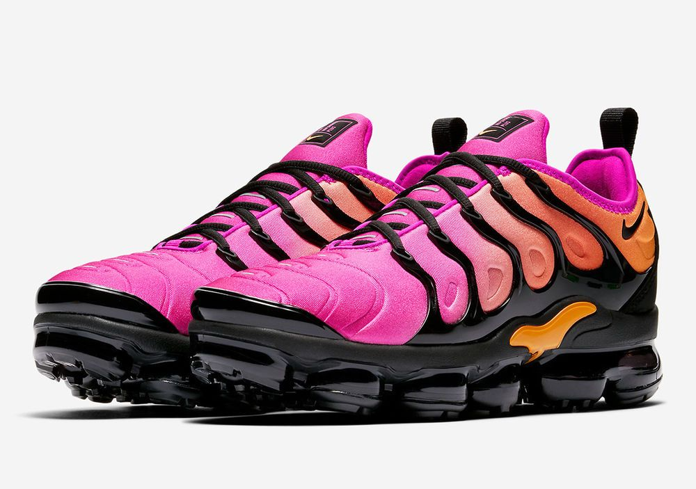 watch 854bc 7463f Details about Nike Women's Air Vapormax Plus Sherbert ...