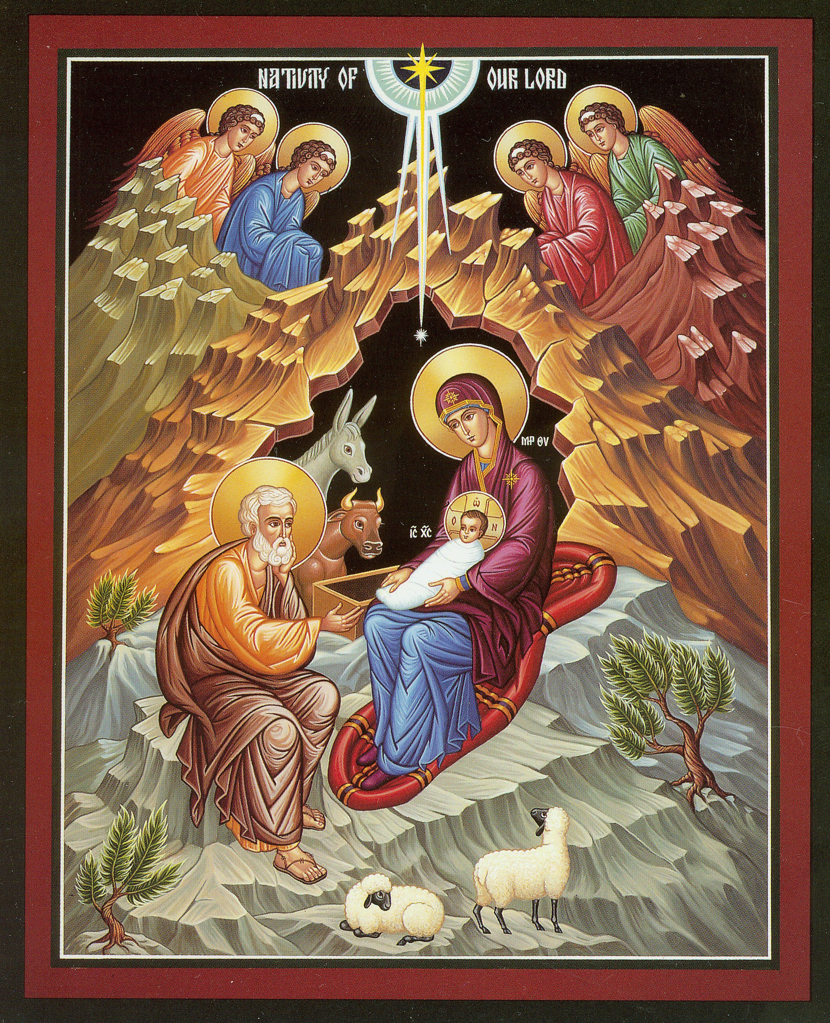 Eastern Orthodox Christmas.Image Detail For Eastern Christian Orthodox Nativity Icon