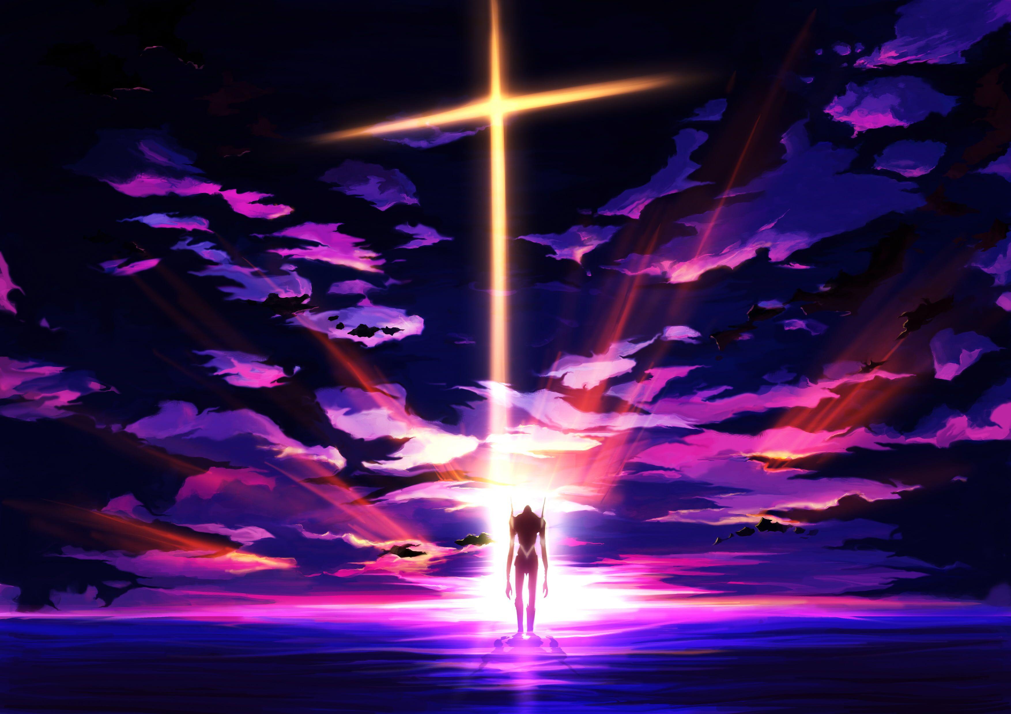 Neon Genesis Evangelion Wallpaper Neon Genesis Evangelion Eva Unit 01 Anime Cross 2k Wallpaper Hdwallpaper Desk Neon Wallpaper Anime Wallpaper Evangelion