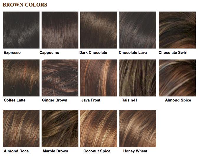 light brown salon color