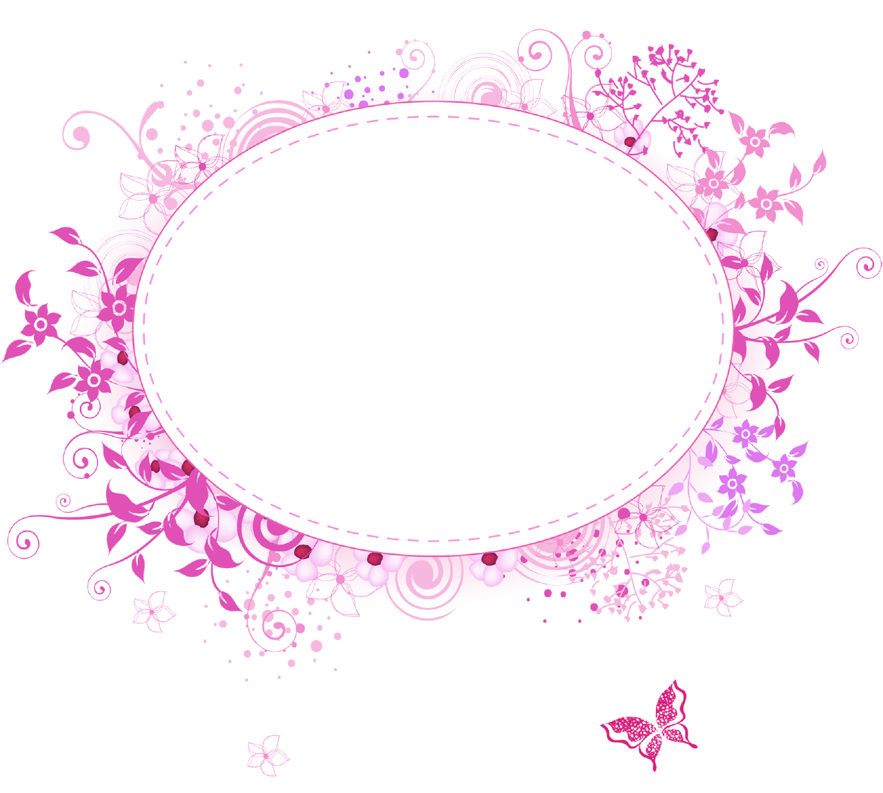 pink border png png frames category 460 views floral oval pink picture frame graphic design. Black Bedroom Furniture Sets. Home Design Ideas