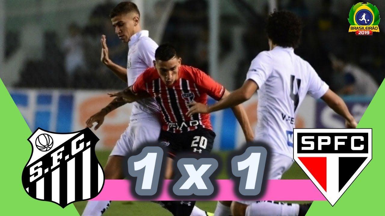 Santos 1 x 1 São Paulo 33ª rosada Melhores Momentos