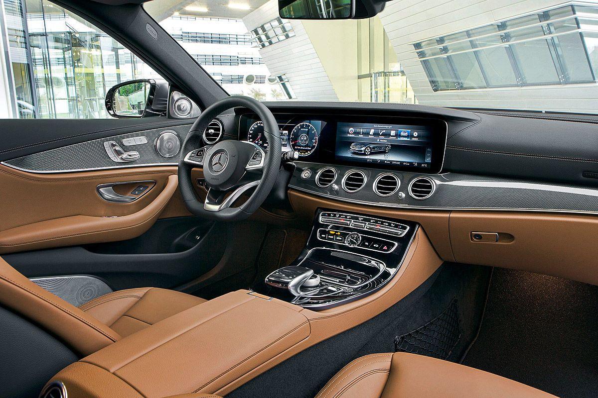 mercedes e-klasse w213 (2017): connectivity-facelift | car