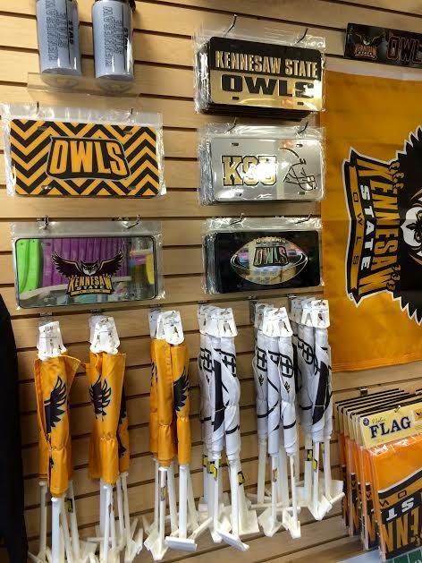 Show your school spirit with Kennesaw State University car