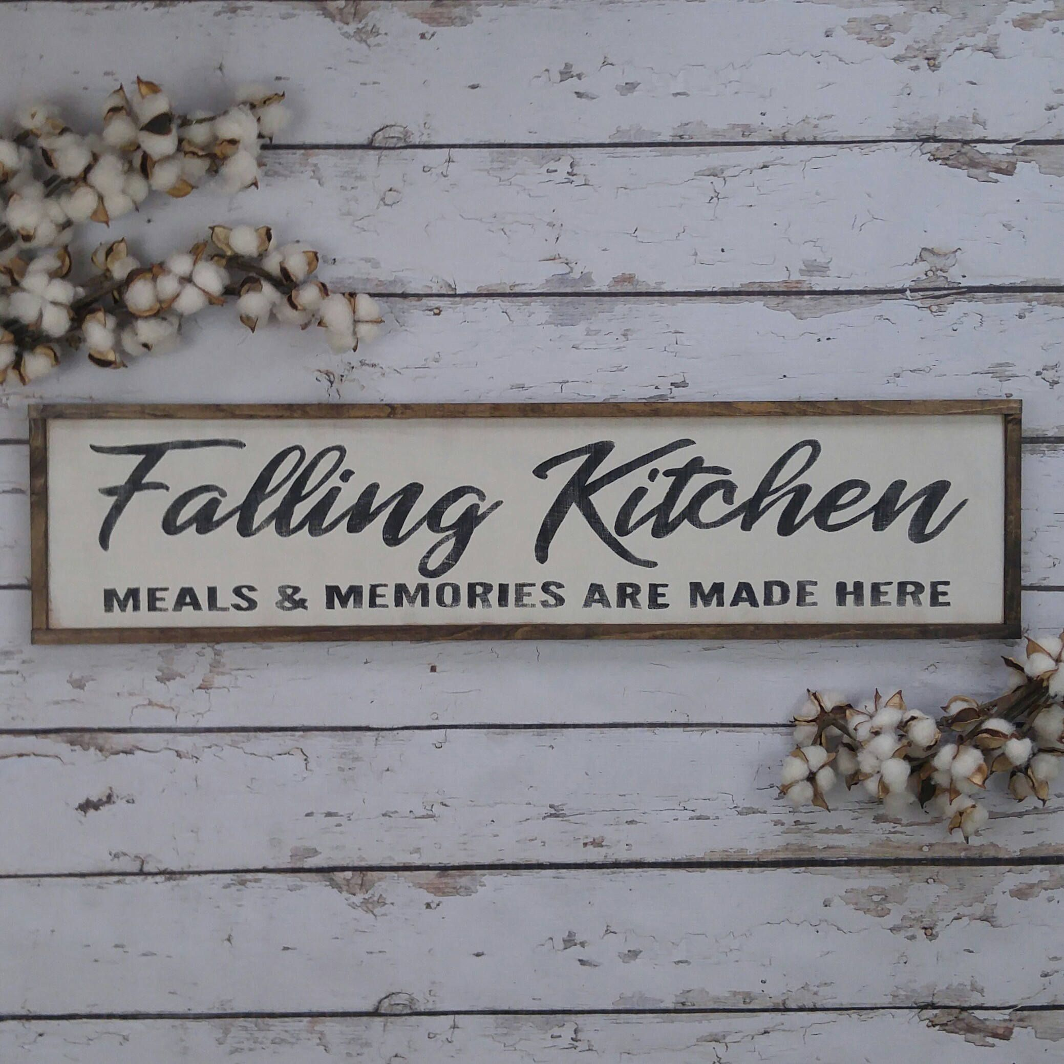 Personalized Kitchen Sign Personalized Wood Sign