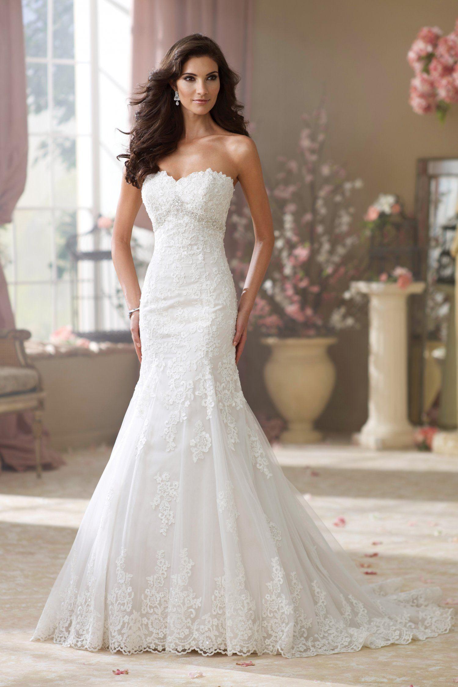 David Tutera For Mon Cheri - 214217, Wilma | Wedding Dress ...