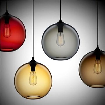 Modern styleglass materialpendant light decor ideas pinterest new modern contemporary color glass ball ceiling light pendant lamp fixture mozeypictures Image collections