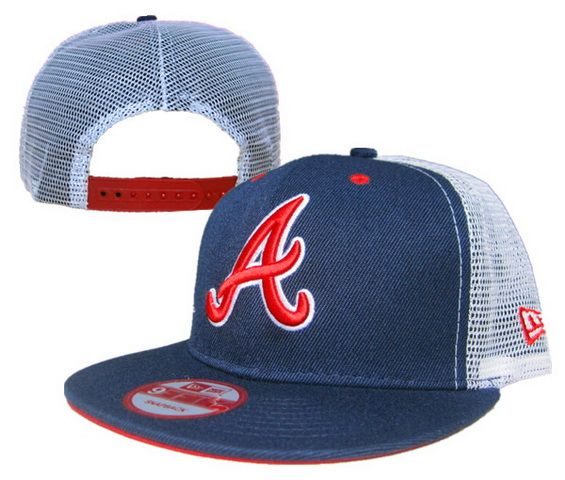 dc16000840b Cheap Wholesale MLB Atlanta Braves New Era 9Fifty Snapback Mesh Hats Navy  for slae at US 8.90  snapbackhats  snapbacks  hiphop  popular  hiphocap ...