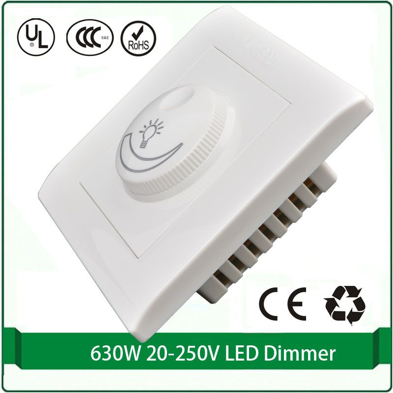 Dimmer Le silicon controlled rectifier dimmer switch 110v 220v max 630w led