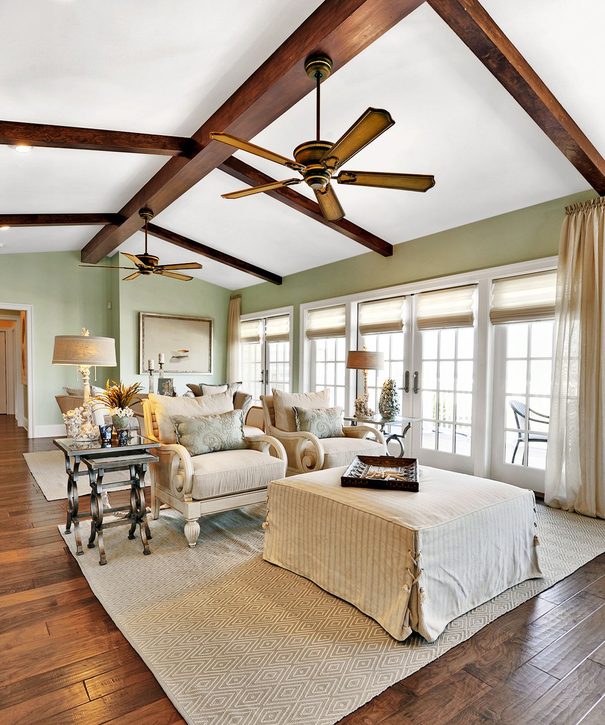 How to Size and Install a Ceiling Fan Vaulted ceiling