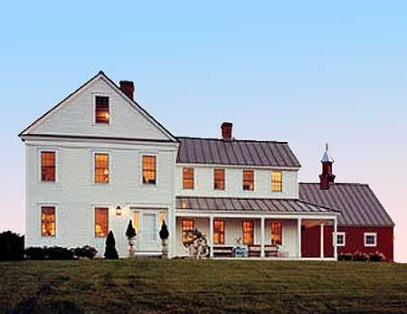 farmhouse and barn my dream house i love the look of it but i