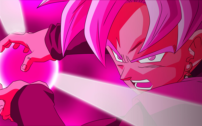 Lataa kuva Vaaleanpunainen Vegeta, manga, art, Dragon Ball Super, DBS