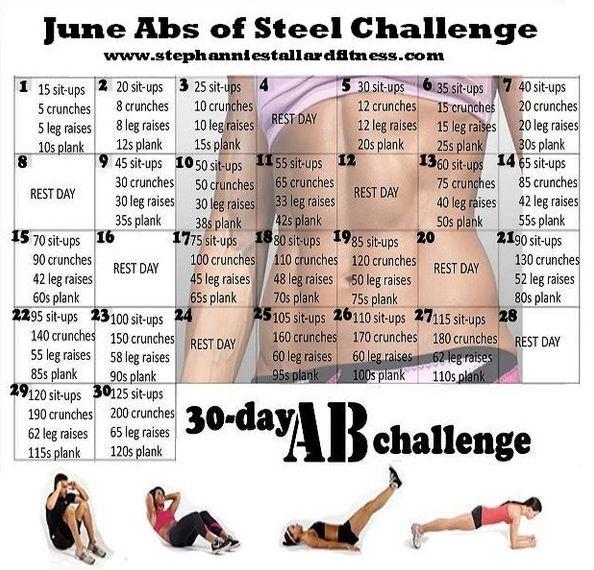 June health challenge