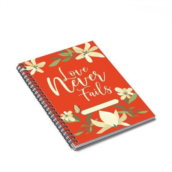 Love Never Fails Notebook JW 2019 Regional International