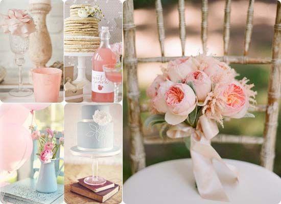 1 Hochzeit Tisch Dekoration Rose Pink Vintag Frisch Rose