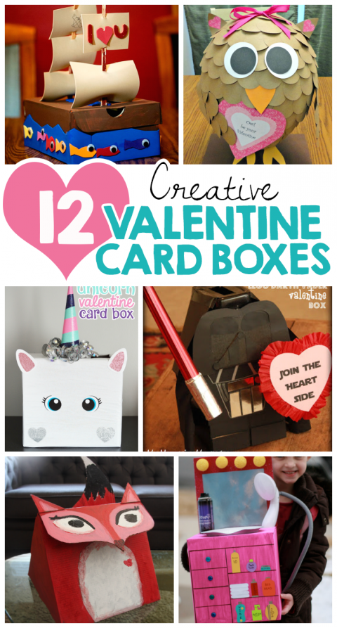 12 Creative Valentine Card Boxes Family Fun Activities Kid Craft