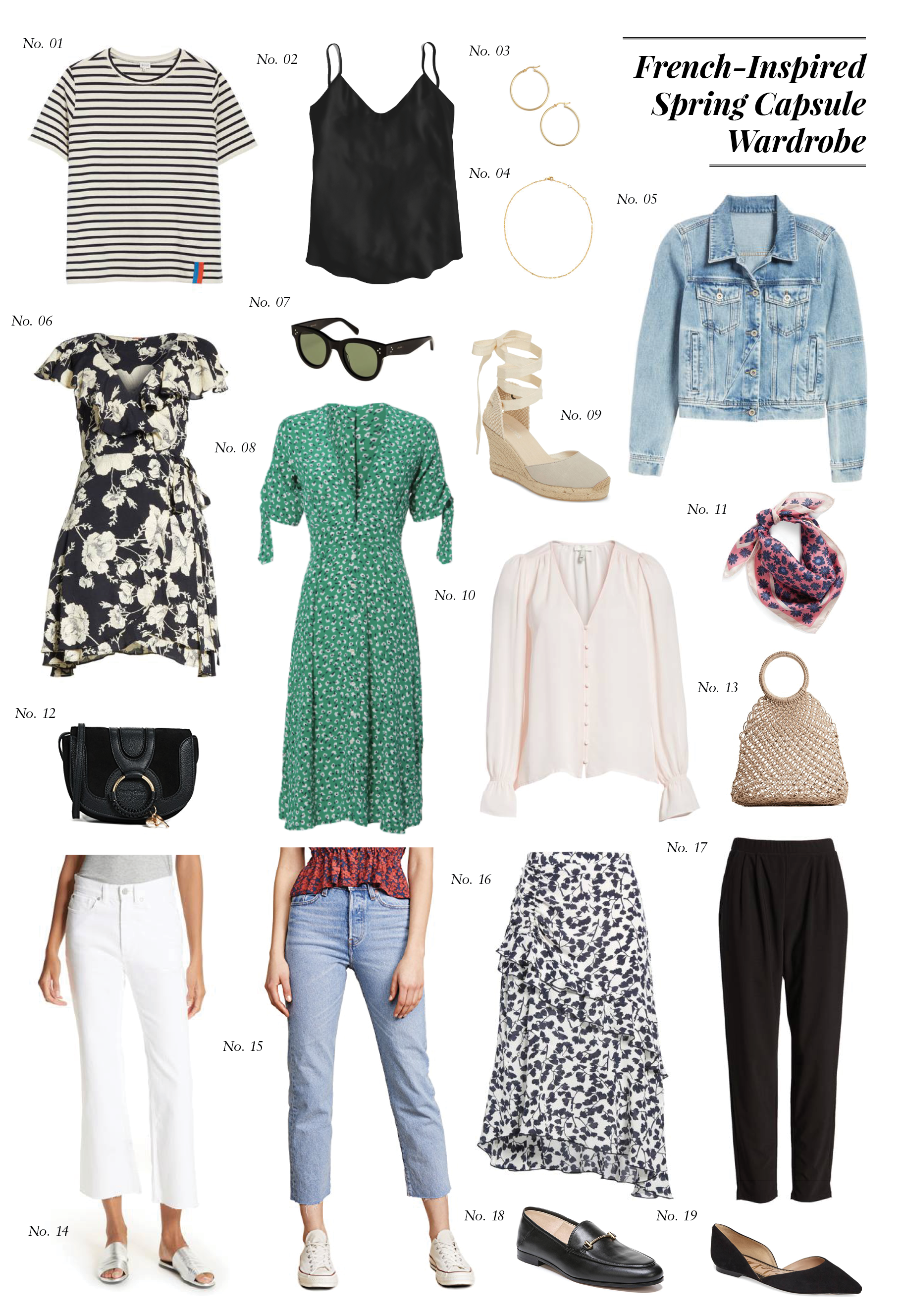 French-Inspired Spring Capsule Wardrobe — Hello Adams Family