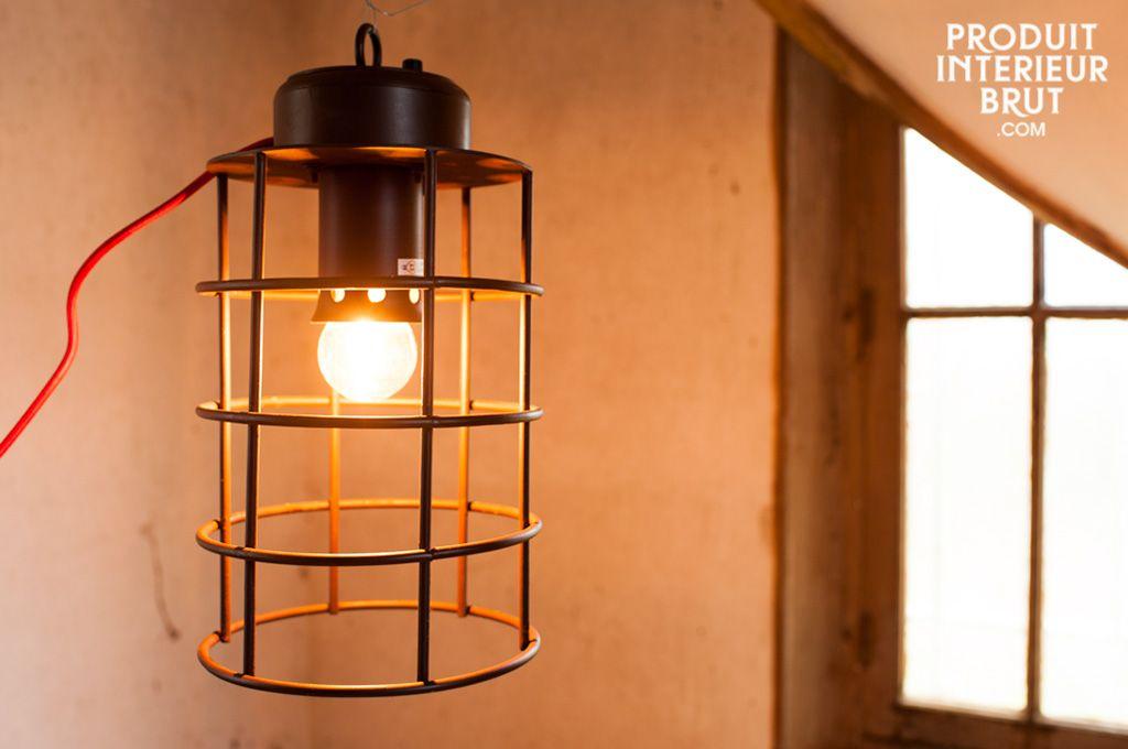 Lampe Nautilus mit großem Gitter