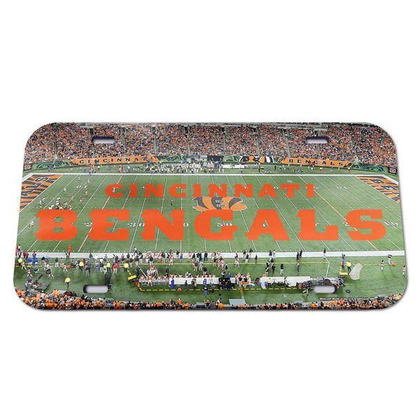 Cincinnati Bengals WinCraft Stadium Crystal Mirror License Plate - $24.99