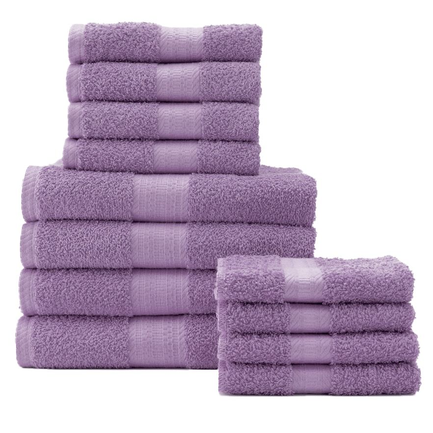 The Big One 12 Pc Bath Towel Value Pack In 2020 Bath Towel