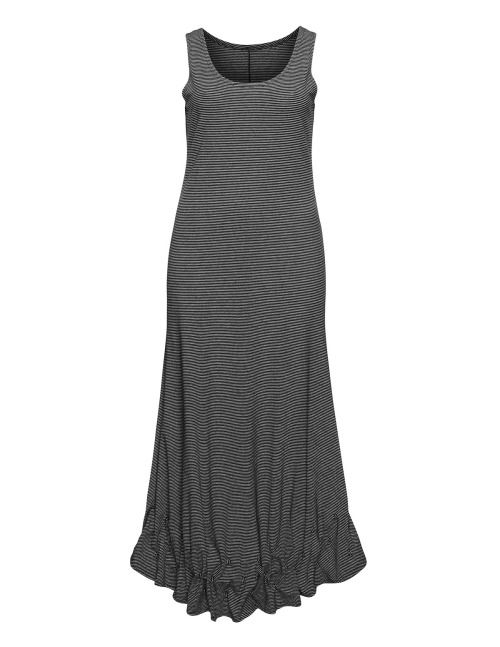 Striped cotton blend maxi dress #maxidress #maxidresses... maxi ...
