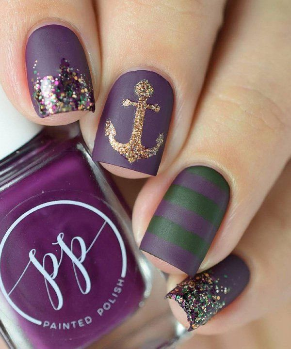 50 Matte Nail Polish Ideas | Matte nail polish, Matte nails and ...