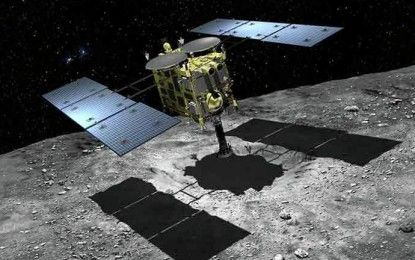 Japan's 'space cannon' ready for use in asteroid sample collection and research
