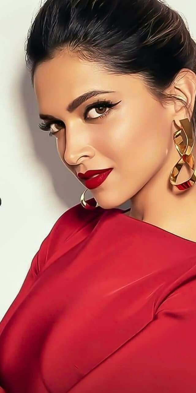 Red beauty Deepika padukone (With images) | Deepika ...