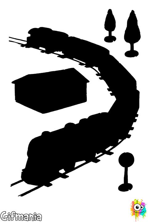 Gare Ferroviaire Patchwork Kinderbasteleien Weihnachten