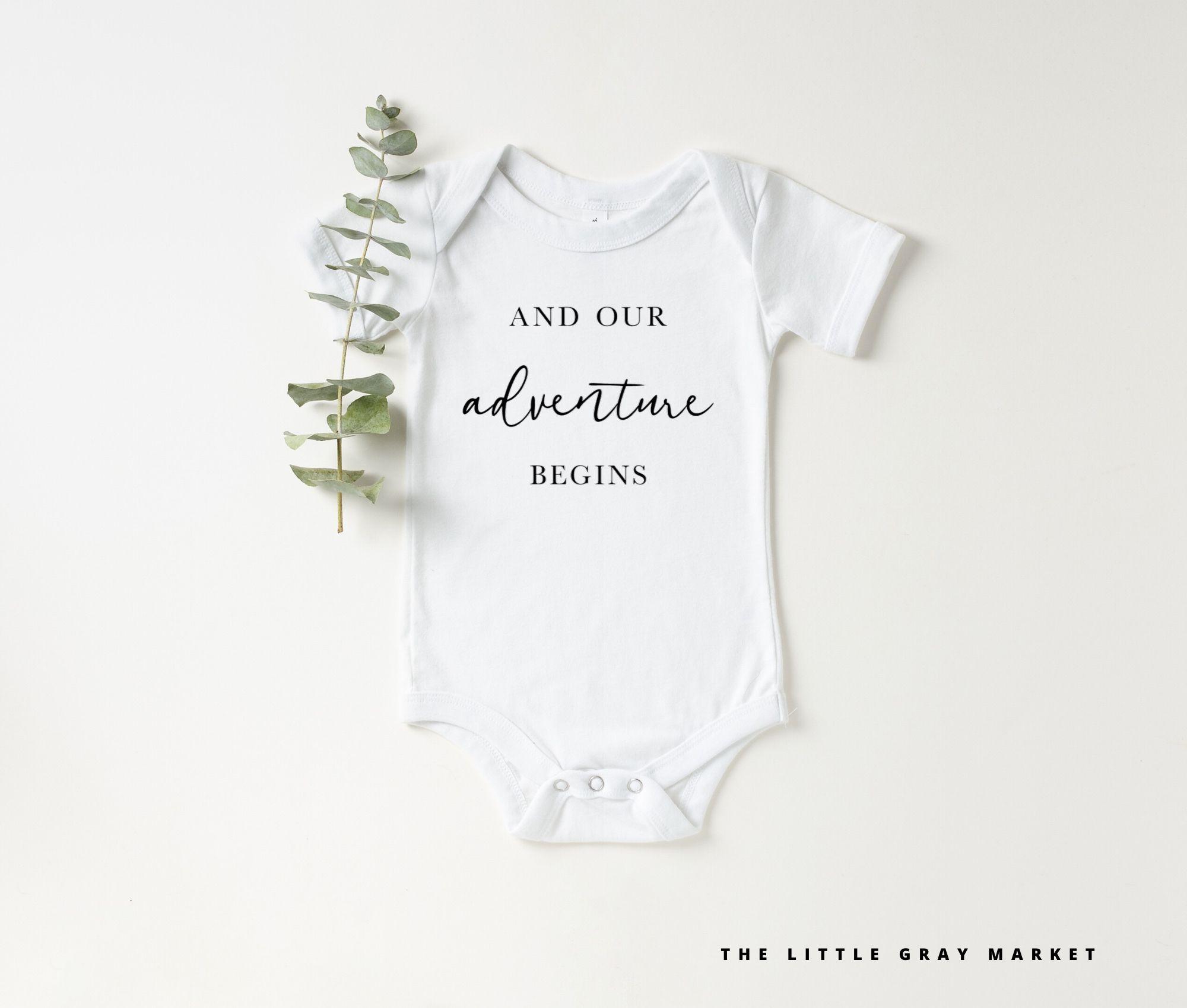 pregnancy reveal Pregnancy announcement onesie baby gift newborn onesie baby shower baby announcement