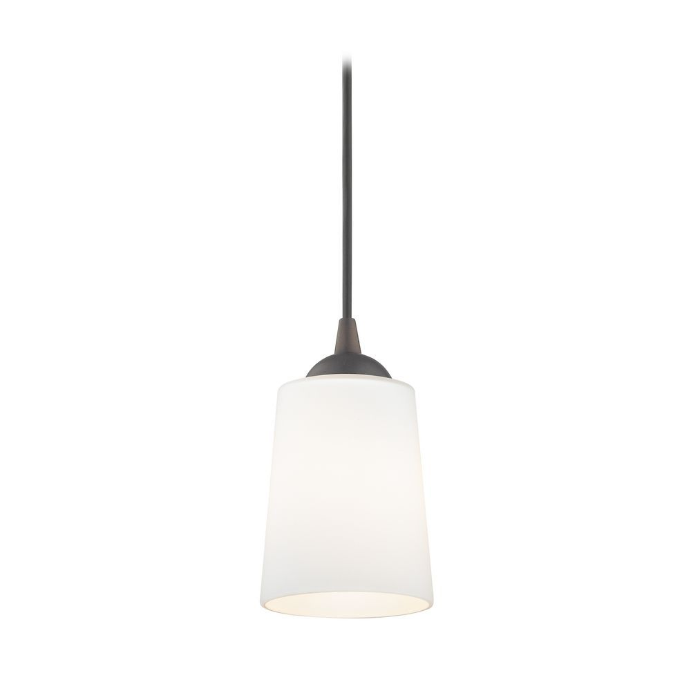 Contemporary mini pendant light with satin white glass mini contemporary mini pendant light with satin white glass aloadofball Choice Image