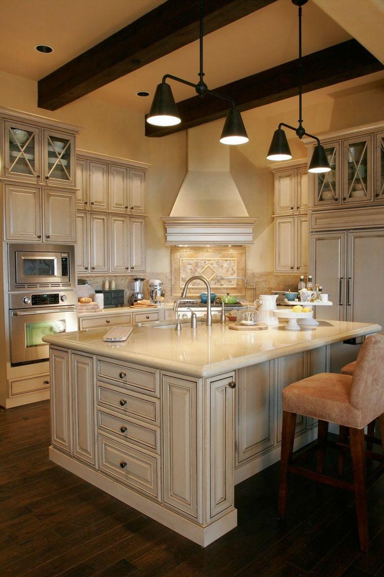 Rustikale Küchen die besten Beispiele für Stil Küche