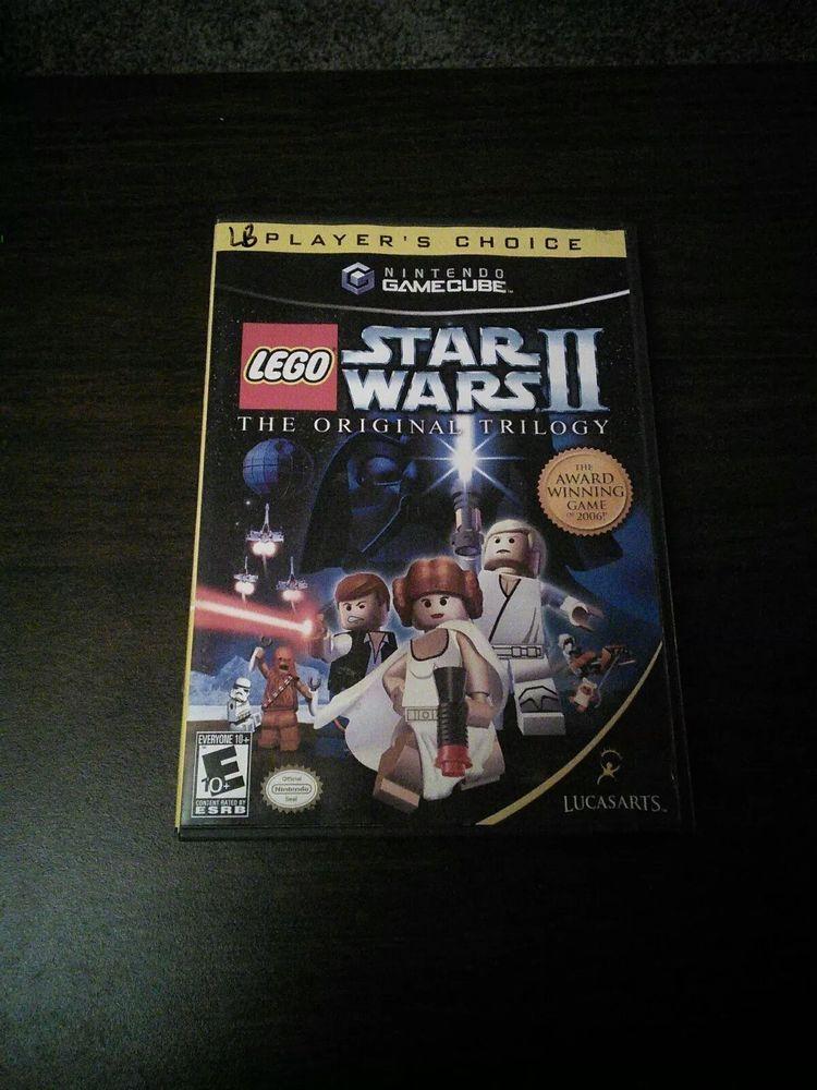 Lego Star Wars Ii The Original Trilogy Gamecube Cib 23272329587 Ebay Star Wars Ii Original Trilogy Lego Star Wars