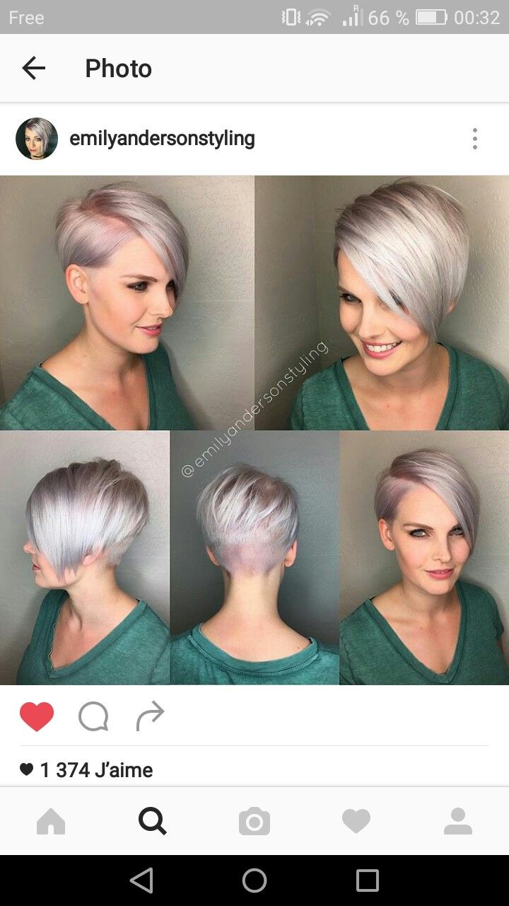 Pin En Short Haircuts