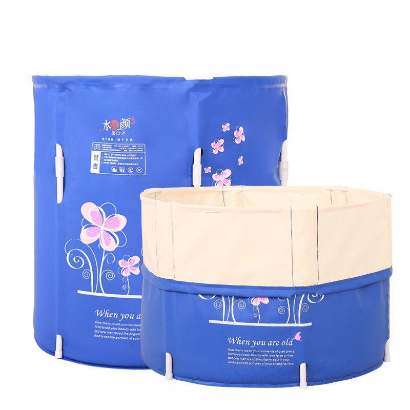 Portable bath TUBS Adult Bathtub Adult Folding Bathtub Banheira ...