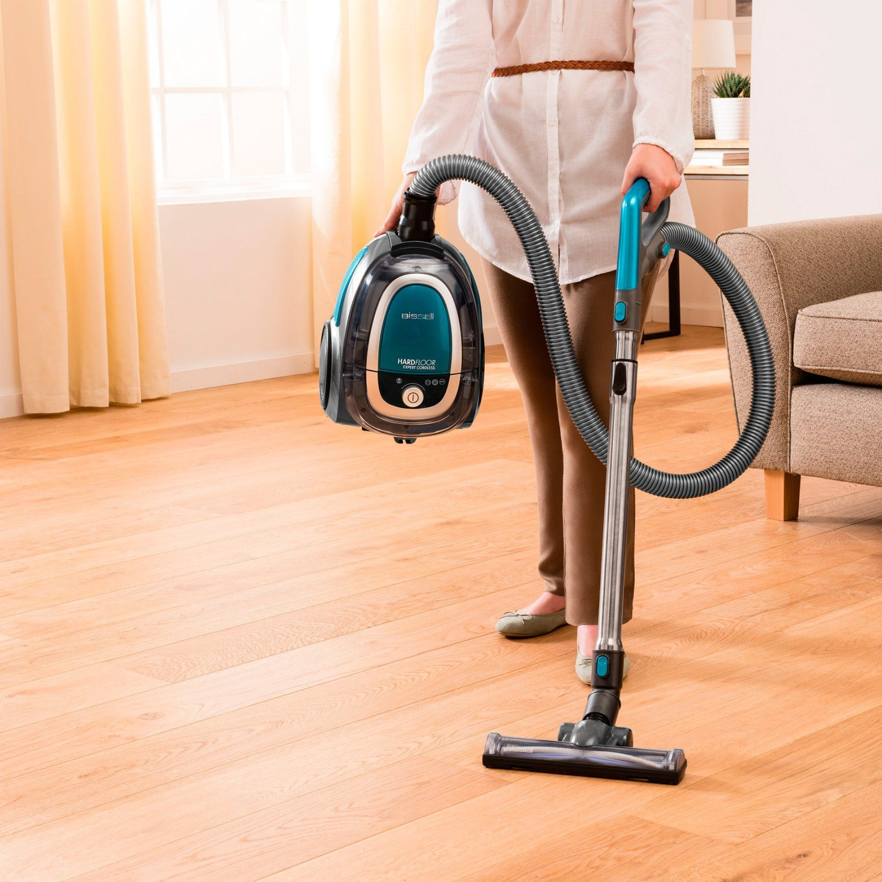 Bissell 36v Hard Floor Expert Cordless Canister Vacuum