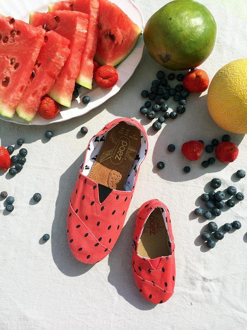 Sandia Mini Mama Y Mit Sandía amp; Melonen Durch Den Sommer Paez rU8rw5q