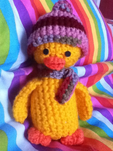 Grove the Duck Free Amigurumi Pattern PDF (click \