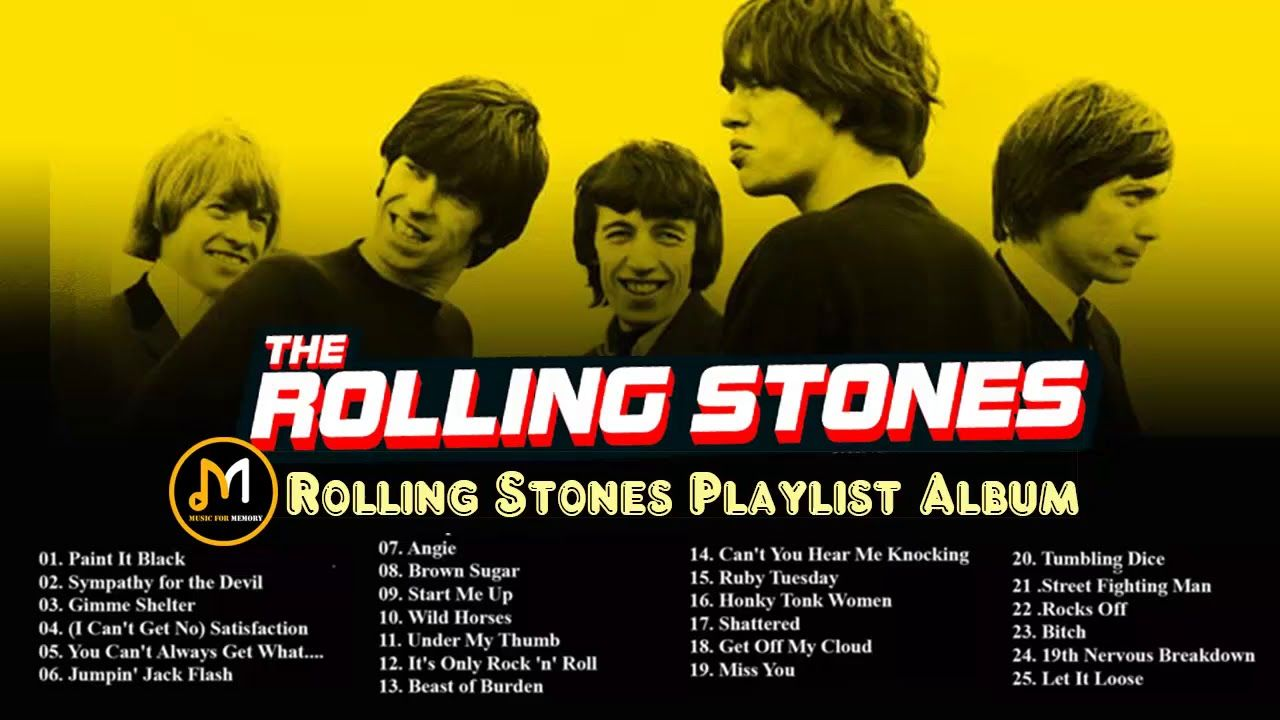 Rolling Stones Playlist Album || The Best Songs Of Rolling