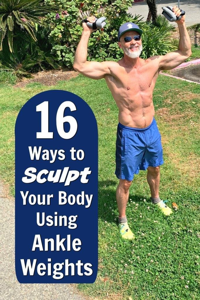 Use Ankle Weights to Sculpt Your Physique Use Ankle Weights to Sculpt Your PhysiqueTry These 16 Exer...