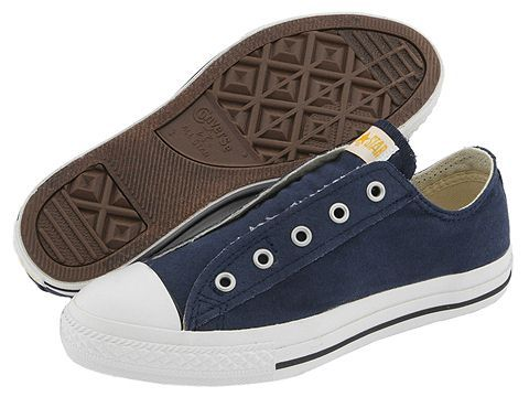 e183ccd2b07c Converse Kids Chuck Taylor® All Star® Core Slip (Little Kid) Navy -  Zappos.com Free Shipping BOTH Ways