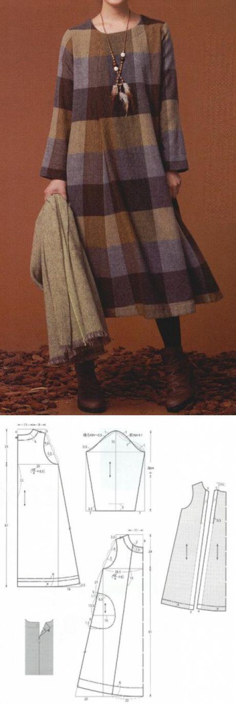 Шитье простые выкройки | Patrones, Costura y Molde