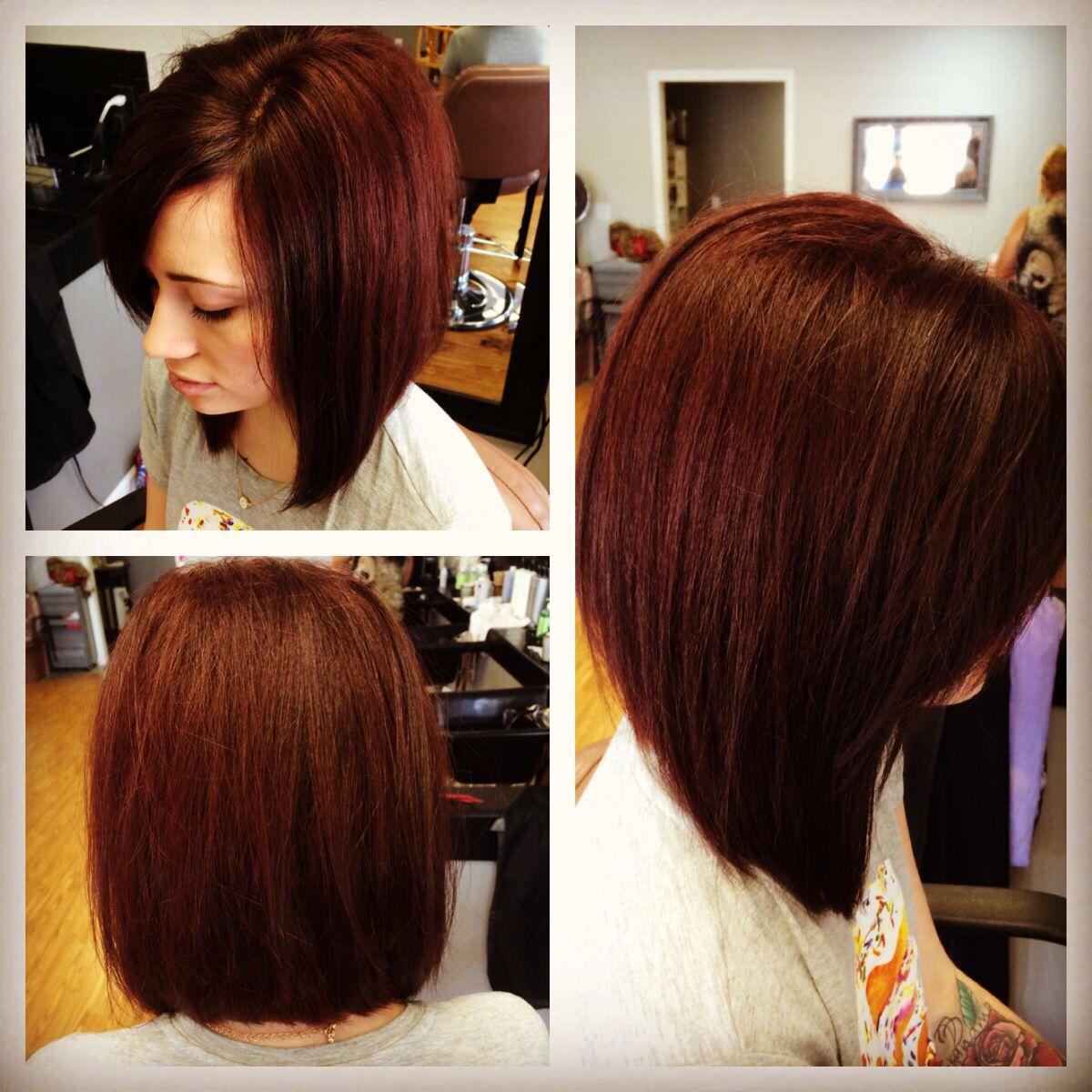 long layered swing bob!!   hair!!!   hair styles, swing bob