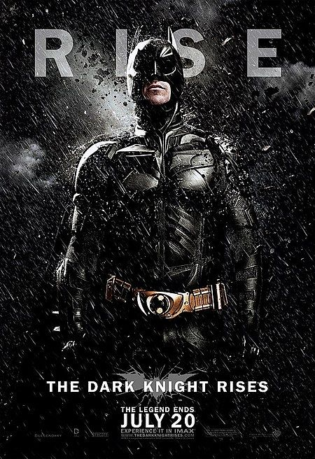 Three The Dark Knight Rises 'The Legend Ends' Character Posters - The Rise of Christian Bale, Tom Hardy, and Anne Hathaway is also on display in three more 1-sheets from Christopher Nolan's Batman finale.