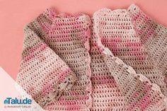 Süße Babyjacke Häkeln Anleitung Baby Crochet Pinterest Baby