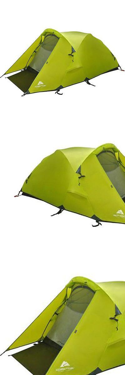 Tents 179010 Ozark Trail 2-Person Waterproof Geo Backpacking Tent C&ing Hunting Hiking -  sc 1 st  Pinterest & Tents 179010: Ozark Trail 2-Person Waterproof Geo Backpacking Tent ...